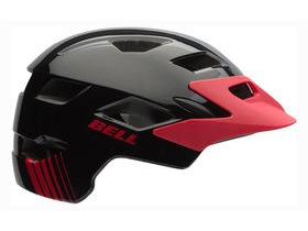 Bell Sidetrack Black/Red Echo