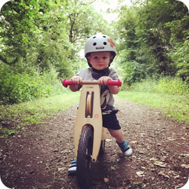 LIKEaBIKE Balance Bikes Range Ages 1 1/2 to 4 Years