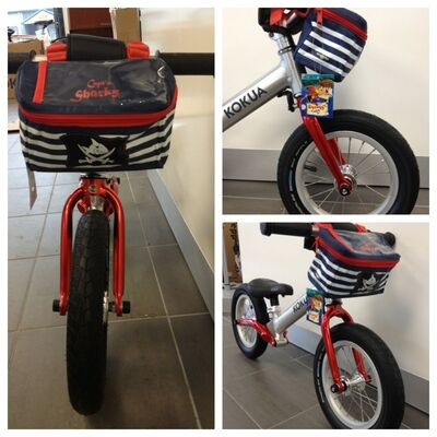 LIKEaBIKE Captain Sharky handlebar bag click to zoom image