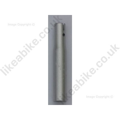 LIKEaBIKE Jumper Seatpost Short - 15cm Silver  click to zoom image