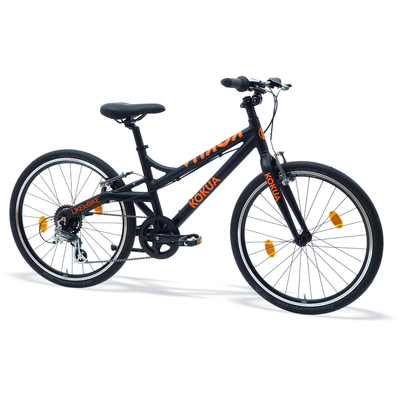 Kokua LIKEtoBIKE 24 Black Orange (Limited Edition)