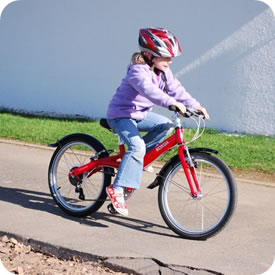 LIKEtoBIKE Pedal Bikes Range Ages 7 to 10 years